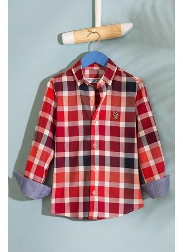 U.S.Polo Assn. Gömlek Kırmızı